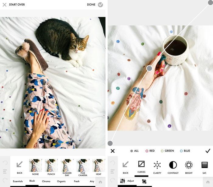 en iyi instagram resim düzenleme uygulamaları